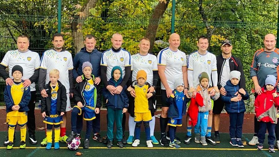В Ялте прошел фестиваль для родителей юных футболистов