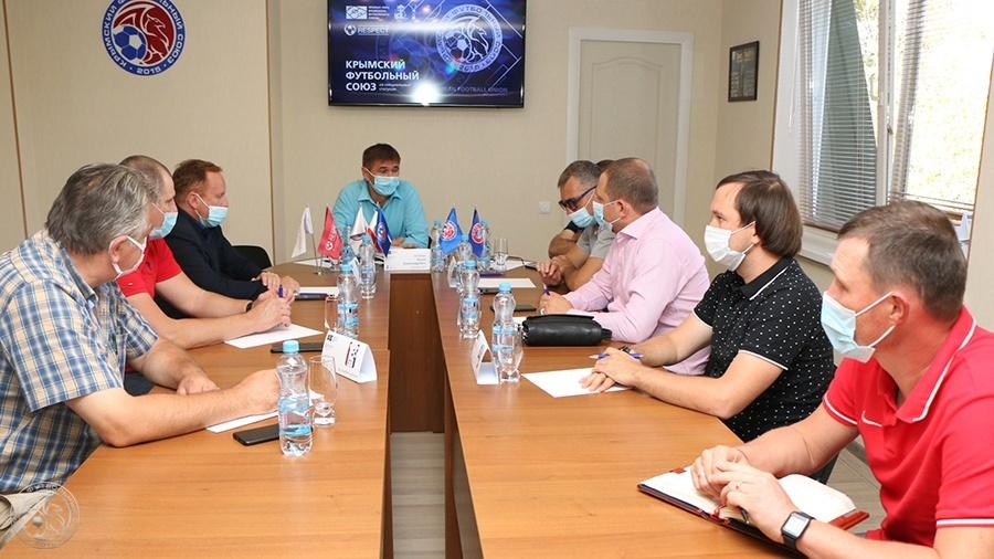 Совещание с участием руководителей футбольных клубов Премьер-лиги