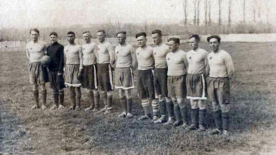 110 лет севастопольскому футболу.